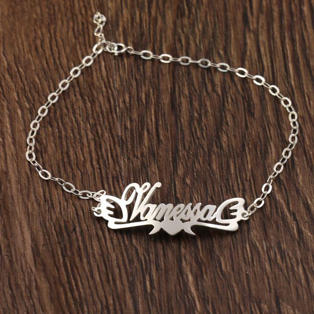 Customized Name Ankle Chain or Ankle Bracelet in Nigeria