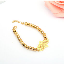 simple gold bracelet for women